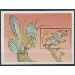 Lesotho - 1992 - No BF94 - Animaux préhistoriques
