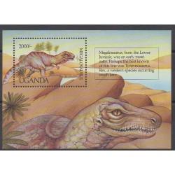 Ouganda - 1992 - No BF153 - Animaux préhistoriques