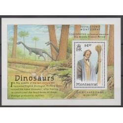 Montserrat - 1992 - Nb BF60 - Prehistoric animals