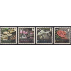 British Indian Ocean Territory - 2009 - Nb 442/445 - Mushrooms