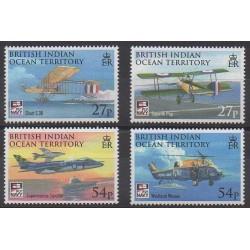 Océan Indien - 2009 - No 421/424 - Aviation - Hélicoptères