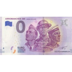 Euro banknote memory - 14 - Arromanches 360 - 2019-3