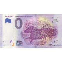 Euro banknote memory - 24 - Lascaux - 2019-6