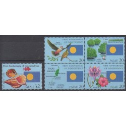 Palau - 1995 - No 840/844 - Histoire