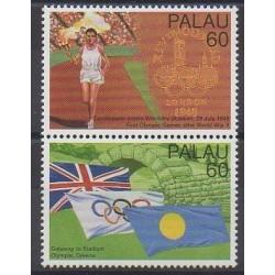 Palau - 1996 - No 927/928 - Jeux Olympiques d'été
