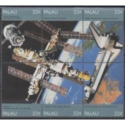 Palau - 1999 - No 1235/1240 - Espace