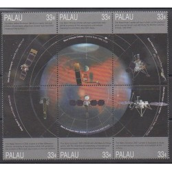 Palau - 1999 - No 1265/1270 - Espace