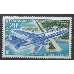 Polynésie - Poste aérienne - 1973 - No PA74