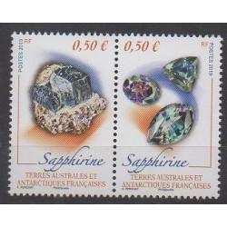 French Southern and Antarctic Territories - Post - 2019 - Nb 884/885 - Minerals - Gems