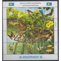 Palau - 1989 - Nb 278/297 - Animals - Environment - Exhibition