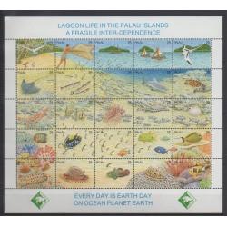 Palau - 1990 - No 329/353 - Animaux - Environnement