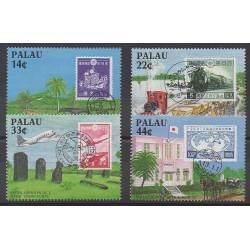 Palau - 1987 - Nb 188/191 - Stamps on stamps