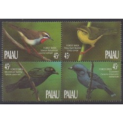 Palau - 1990 - Nb 307/310 - Birds