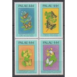 Palau - 1988 - No 202/205 - Insectes