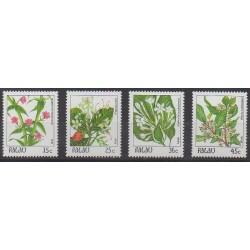 Palau - 1988 - No 216/219 - Fleurs