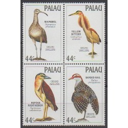 Palau - 1988 - No 206/209 - Oiseaux
