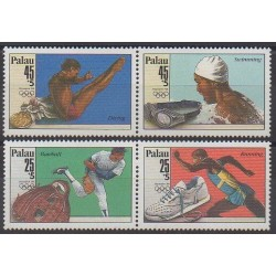 Palau - 1988 - Nb 220/223 - Summer Olympics
