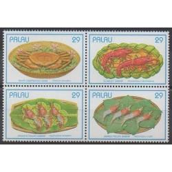 Palau - 1993 - Nb 539/542 - Gastronomy