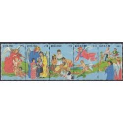 Palau - 1988 - No 224/228 - Noël