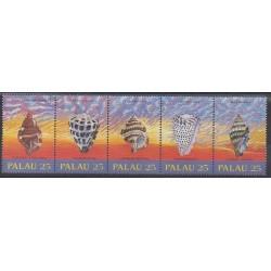 Palau - 1988 - No 237/241 - Animaux marins