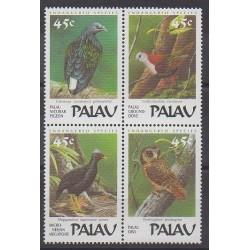 Palau - 1989 - No 229/232 - Oiseaux