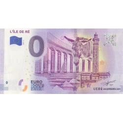 Euro banknote memory - 17 - L'île de Ré - 2019-2