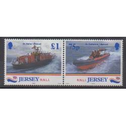 Jersey - 1999 - Nb 870/871 - Firemen