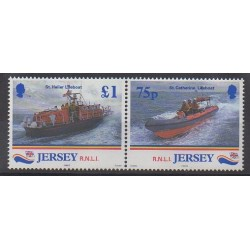 Jersey - 1999 - No 870/871 - Pompiers