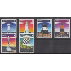 Jersey - 1999 - Nb 905/910 - Lighthouses