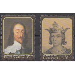 Gambie - 2000 - No 3286/3287 - Royauté - Principauté
