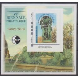 France - CNEP Sheets - 2019 - Nb CNEP 80 - Art