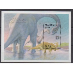 Maldives - 1992 - No BF256 - Animaux préhistoriques
