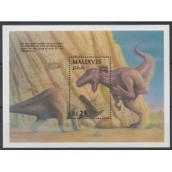 Maldives - 1992 - No BF263 - Animaux préhistoriques
