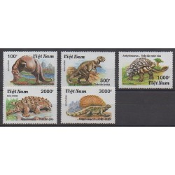 Vietnam - 1990 - Nb 1100A/1100E - Prehistoric animals