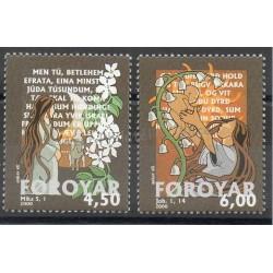 Féroé (Iles) - 2000- No 381/382 - Noël