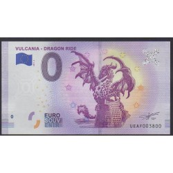Billet souvenir - 63 - Vulcania - Dragon Ride - 2019-4 - No 3800