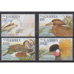 Gambie - 1995 - No 1787/1790 - Oiseaux