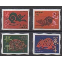 Gambie - 1995 - No 1952/1955 - Horoscope