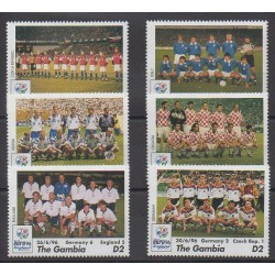 Gambia - 1996 - Nb 2104/2109 - Football