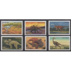 Gambia - 1997 - Nb 2454/2459 - Prehistoric animals