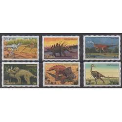 Gambie - 1997 - No 2454/2459 - Animaux préhistoriques