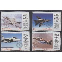 Gambie - 1999 - No 2728/2731 - Aviation