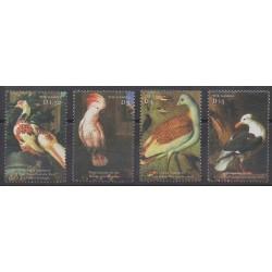 Gambie - 2000 - No 3240/3243 - Oiseaux - Peinture