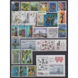 Polynésie - Année complète - 1991 - No 373A/398 - BF18