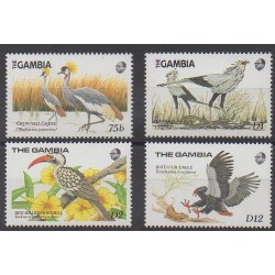 Gambia - 1989 - Nb 781/784 - Birds