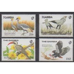 Gambie - 1989 - No 781/784 - Oiseaux