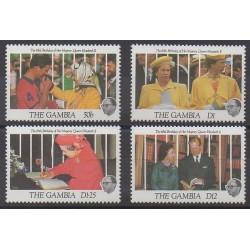 Gambia - 1991 - Nb 1019/1022 - Royalty