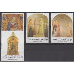 Gambie - 1991 - No 1085/1088 - Noël