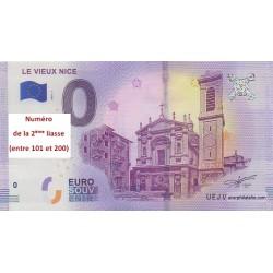 Billet souvenir - Le Vieux Nice - 2018-1 - No de la 2ème liasse