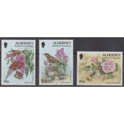 Aurigny (Alderney) - 1997 - No 100/102 - Animaux